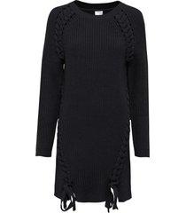maglione lungo con stringatura (nero) - bodyflirt