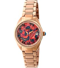 empress helena automatic rose gold stainless steel watch 36mm