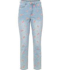mom jeans fantasia (blu) - rainbow