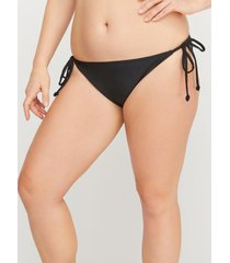 lane bryant women's swim string bikini bottom 22 black