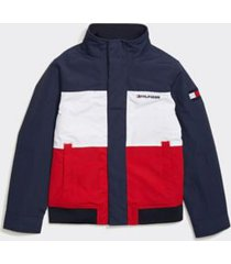 tommy hilfiger boy's adaptive icon yachting jacket core navy - xs