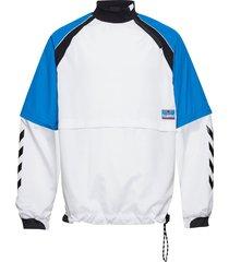 hmlcosmo jacket sweat-shirt tröja vit hummel hive