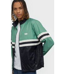 levis colorblocked windbreaker night jackor multicolor