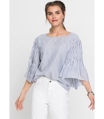 blouse met volants