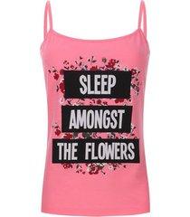 top descanso sleep color rosado, talla l