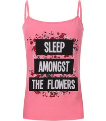 top descanso sleep color rosado, talla l