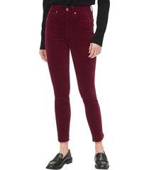 jeans true skinny velvet morado gap