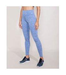 calça legging esportiva ace azul