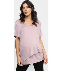 blusa liz 21062 amamentação pós parto bojo