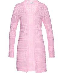 cardigan in misto lino (rosa) - bpc selection