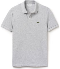 lacoste heren poloshirt argent chine slim fit