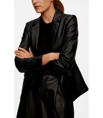 mango pockets structured blazer