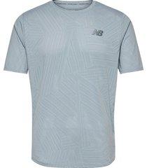 mt11278 t-shirts short-sleeved blå new balance