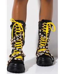 akira cape robbin boogie feet flatform jewel bootie