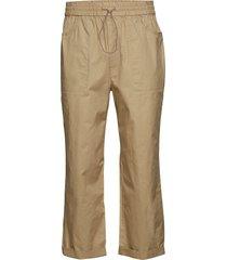 buzz trousers casual broek vrijetijdsbroek beige wood wood