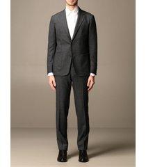 z zegna suit z zegna single-breasted flannel suit 300 gr drop 8