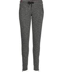 fashion luxe jogger sweatpants mjukisbyxor grå superdry