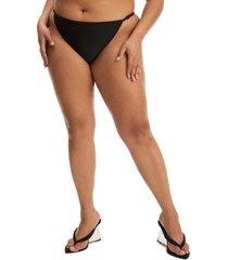 good american adjustable bikini bottoms, size 5 in black001 at nordstrom