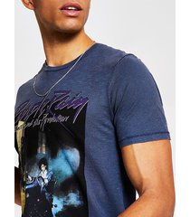 mens jack and jones blue prince t-shirt