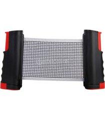 rede de tênis de mesa winmax flexível vermelha .