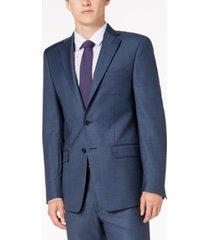 calvin klein men's solid classic-fit suit jackets