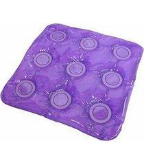 almofada caixa de ovo anti escaras quadrada dupla face gel e inflável triflex bioflorence 103.0201