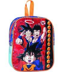 mochila azul dragon ball