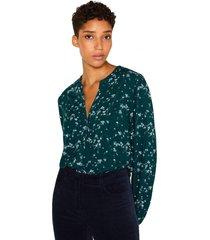 blusa casual verde esprit