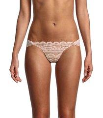 scallop lace bikini bottom