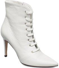 pearl shoes boots ankle boots ankle boot - heel vit jennie-ellen