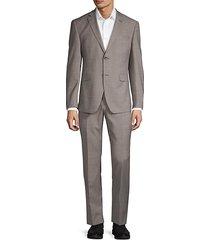 classic slim-fit suit