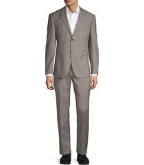 classic slim-fit suit