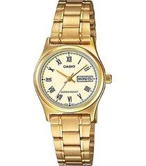 reloj casio  ltp-v006g-9b mujer