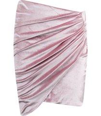 alexandre vauthier wrap skirt