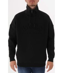 boss salboa sweatshirt - black 50410352