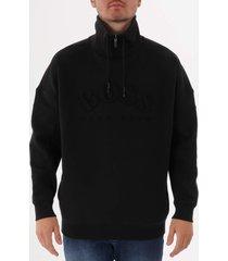 boss salboa sweatshirt - black 50410352