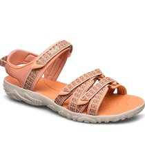 k tirra shoes summer shoes flat sandals rosa teva