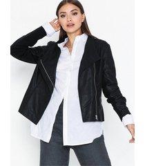 y.a.s yasdaniella naplon jacket skinnjackor