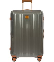 "bric's men's capri 30"" spinner luggage - olive"
