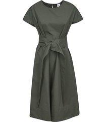 aspesi belted dress