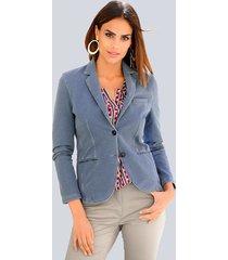 blazer alba moda blauw