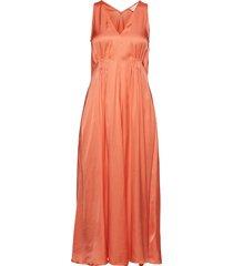 iw50 12 suki dress knälång klänning orange inwear