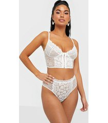 nly lingerie old stories high waist panty string