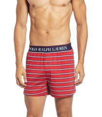 men's polo ralph lauren stripe knit boxers