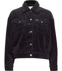 80´s western jacket jeansjack denimjack zwart wrangler