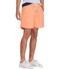 traje de baño traveler naranja polo ralph lauren
