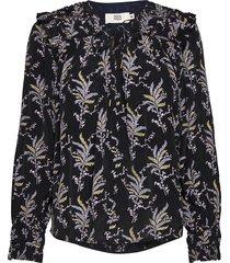 blouse blouse lange mouwen zwart noa noa