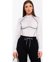 akira meet you at the track long sleeve bodysuit