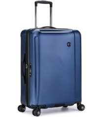"""traveler's choice halow 25"""" polycarbonate spinner suitcase"""