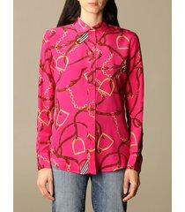 lauren ralph lauren shirt lauren ralph lauren shirt in printed silk